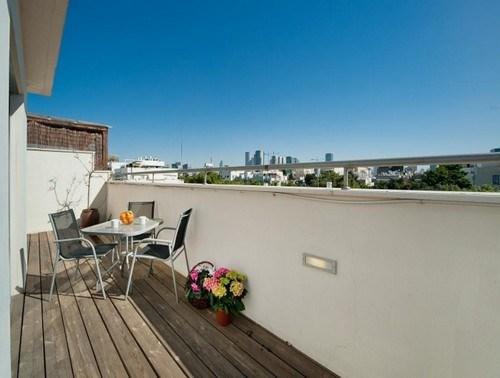 מאוד דירות נופש פנטהאוז יוקרה באחד העם - על גגות תל אביב, תל אביב   Weekend ZG-55